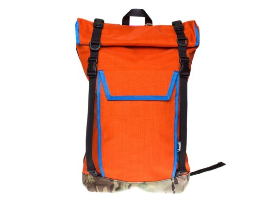 Veganski Berlin Backpack OrangeBlue